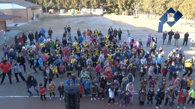 """""""Xocozumbató"""" solidari a l'Escola La Noguera de Balaguer"""