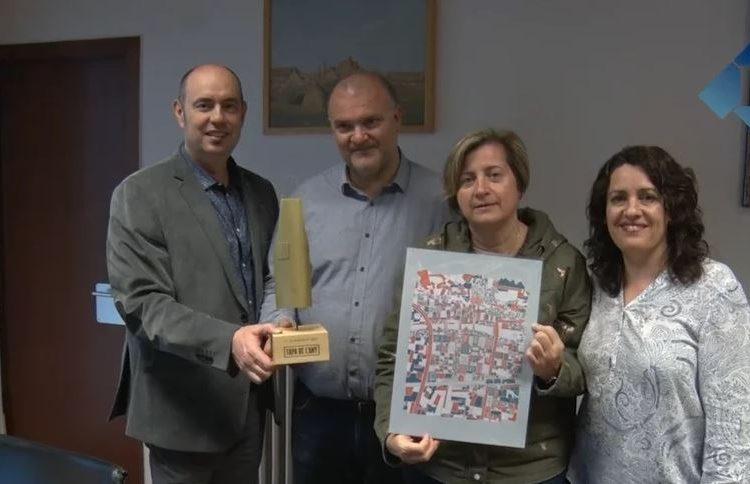 L'Ajuntament de Balaguer rep al Tastet del Reng, guanyador del concurs Tapa de l'Any