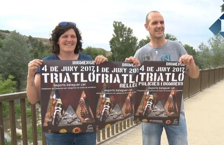 El Triatló de muntanya de Balaguer estrena la modalitat per equips