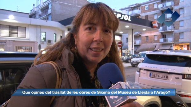 Balaguer Opina: Trasllat de les obres de Sixena del Museu de Lleida a l'Aragó