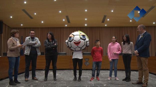 El Mundial Femení de Futbol Sala ja té mascota: la Boing-Girl