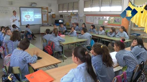 La Clínica Dental Balaguer imparteix el taller 'Cuidem el Somriure' a l'Escola Gaspar de Portolà