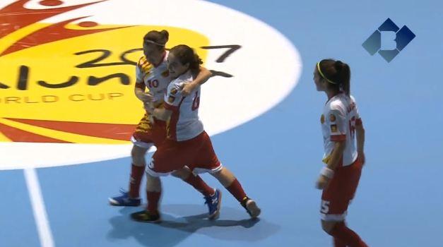 La Selecció Catalana de futbol sala femení jugarà contra Brasil els quarts de final