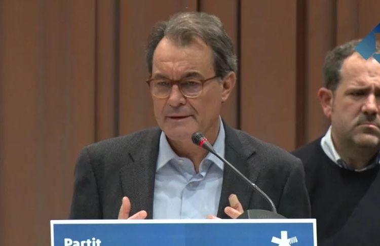 """Artur Mas: """"Som els que més ens l'hem jugat pel procés"""""""