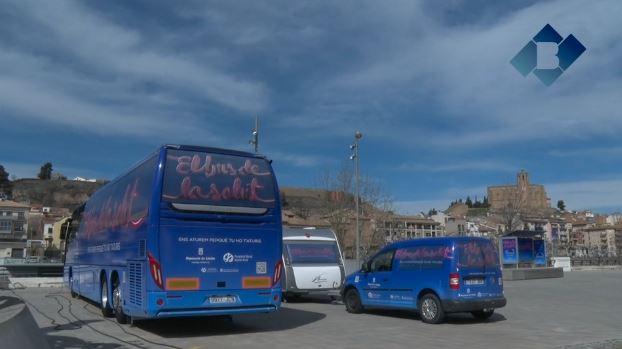 'El bus de la salut' fa parada a Balaguer per quart any consecutiu