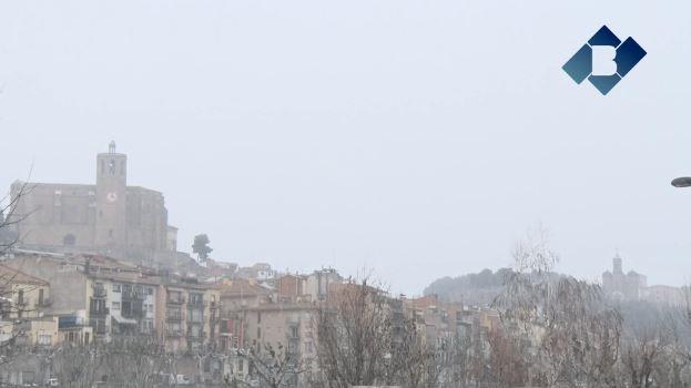 Arriba el temporal de neu a Balaguer