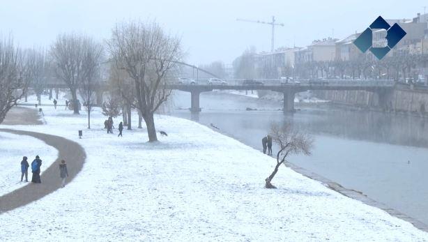 La neu emblanquina Balaguer i deixa els primers gruixos arreu de la comarca
