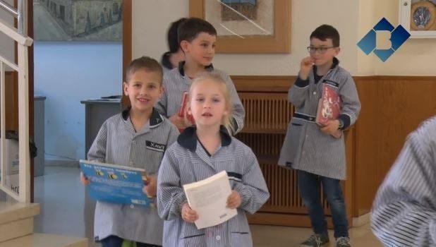 Els alumnes de l'Escola Pia participen al programa 'Recicla Cultura'