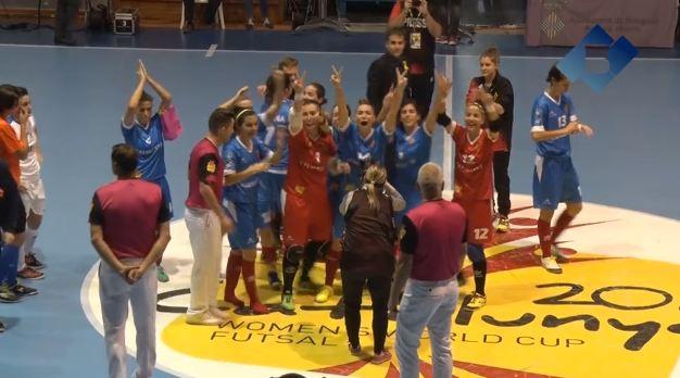 La Selecció Catalana 5a al Mundial de Futbol Sala Femení