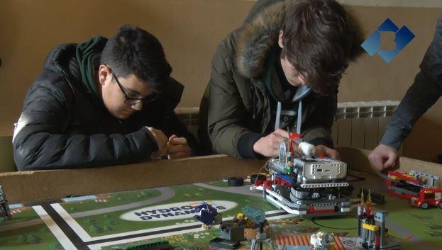 L'Institut Els Planells d'Artesa de Segre a la final estatal de la First Lego League
