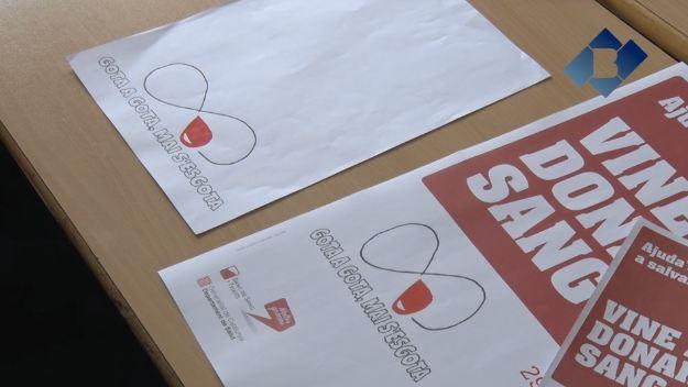 Alumnes de l'Escola Pia de Balaguer organitzen la segona campanya de Donació de Sang a l'Escola
