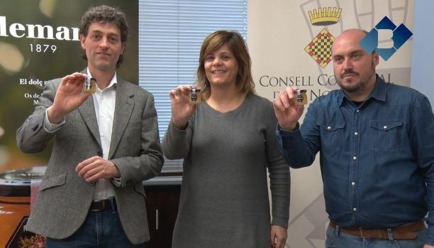 Mel i Torrons Alemany col·labora amb el COU d'Àger obsequiant als escolars amb un petit pot de mel
