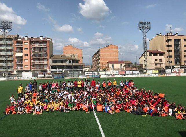 300 infants participen a la 1a Trobada Esportiva de Cicle Mitjà d'Escoles Rurals de la Noguera