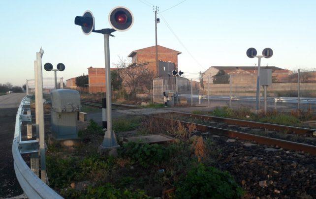 FGC elimina un pas a nivell de la línia Lleida-La Pobla
