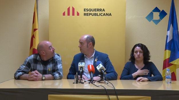 Jordi Ignasi Vidal tornarà a ser el cap de llista d'ERC a les municipals del 2019