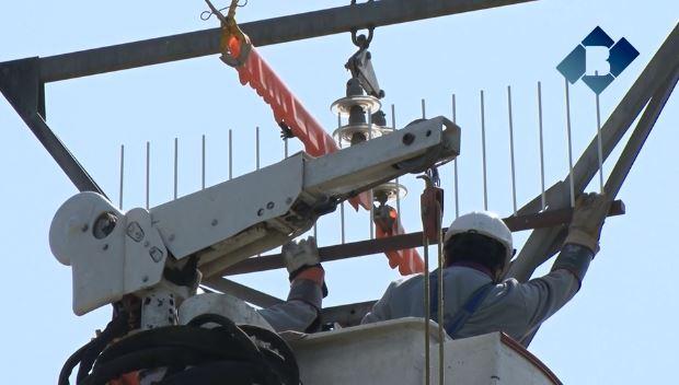 Endesa instal·la nous dispositius a Castelló de Farfanya per impedir que les cigonyes i altres aus facin els seus nius en torres elèctriques