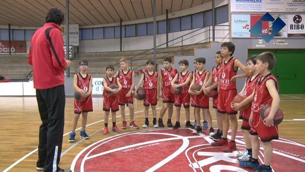 L'equip mini masculí del CENG Artesa de Segre disputa amb èxit la Lliga Barcelona