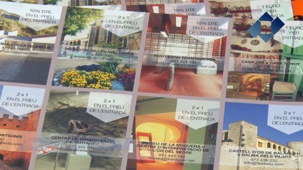 Nova campanya de promoció del patrimoni cultural de la Noguera a través dels comerços