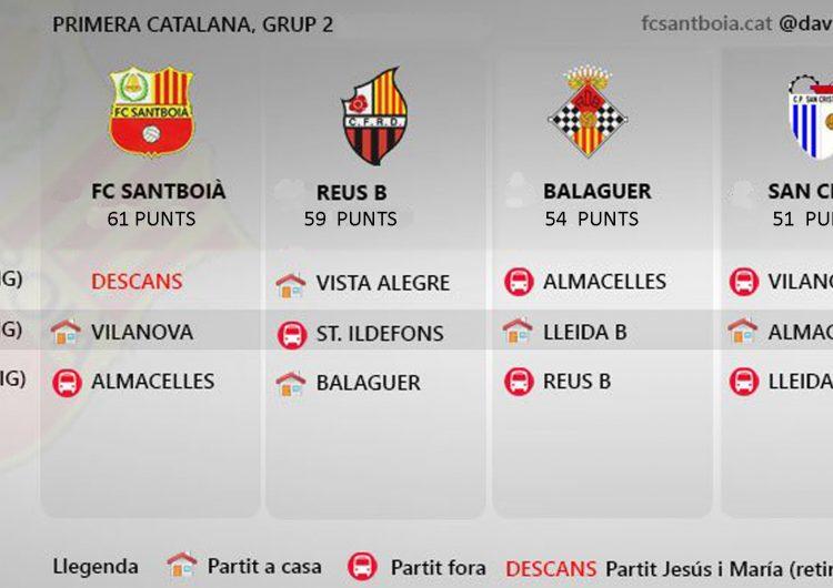 Les opcions d'ascens del CF Balaguer