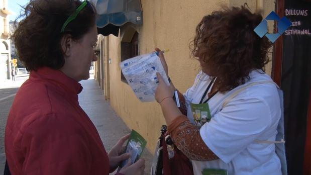 El CAP de Balaguer realitza una activitat preventiva sobre el consum d'alcohol
