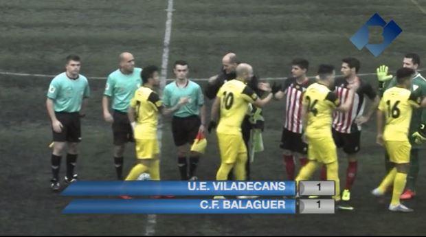 El Club Futbol Balaguer suma un punt a Viladecans