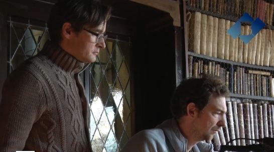 Balaguer acull part d'un rodatge d'un documental sobre Luis Buñuel