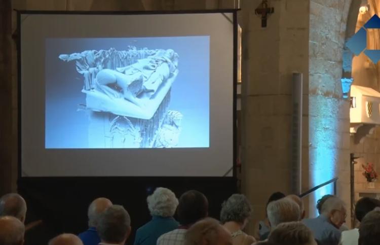 En marxa la segona fase de la reproducció dels sepulcres dels Comtes d'Urgell