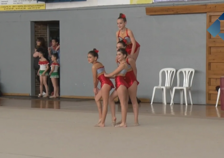 Balaguer acull la 13a edició del Trofeu de Conjunts de Gimnàstica Rítmica Ciutat de Balaguer