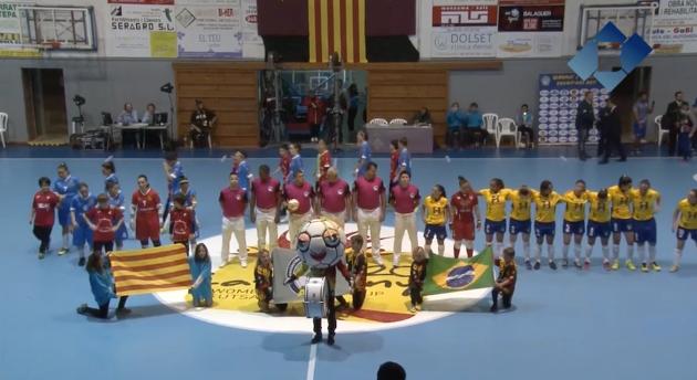 Catalunya perd contra Brasil i ara jugarà per aconseguir la 5a posició del Mundial