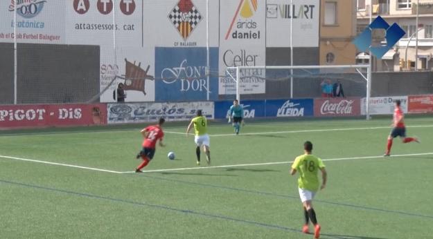El CF Balaguer no passa de l'empat a zero en el seu darrer partit com a local de la temporada