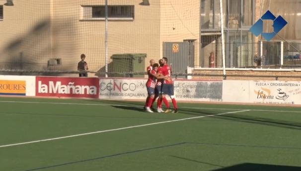 El CF Balaguer aconsegueix la primera victòria de la temporada davant del Lleida Esportiu B
