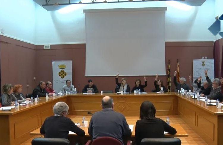 28 ajuntaments aproven el conveni de recollida d'escombraries del Consell Comarcal