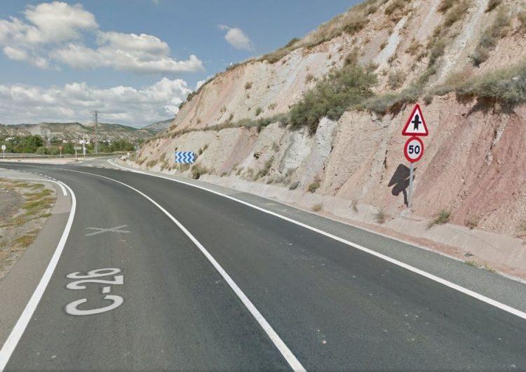 Mor el conductor d'un camió en un nou accident a la carretera c-26 a Ivars d'Urgell