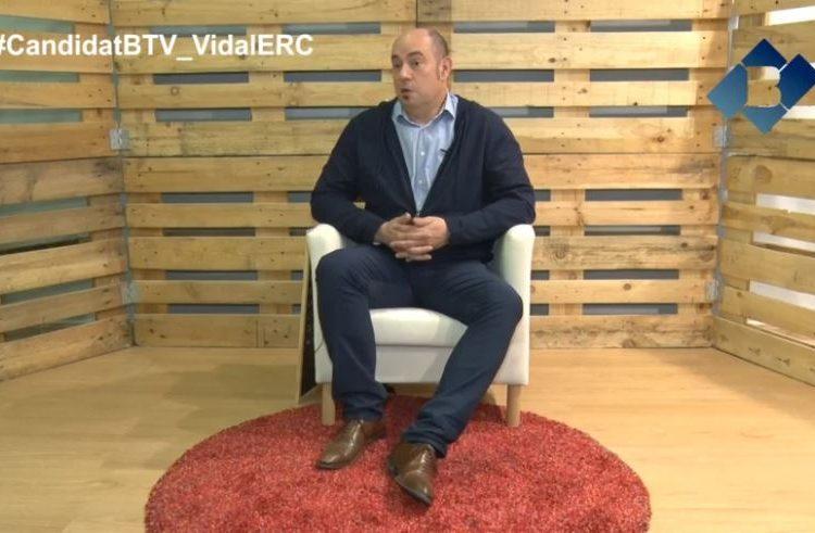El Candidat: Jordi Ignasi Vidal per ERC