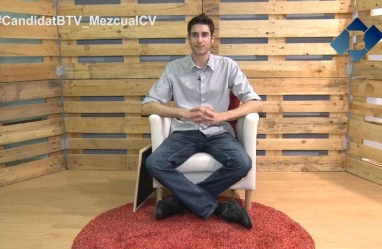 El Candidat: Àlex Mezcua per ICV-EUiA