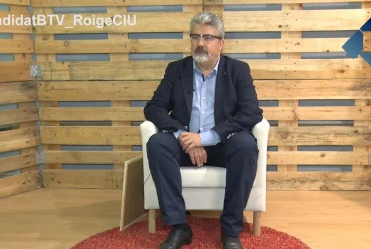 El Candidat: Josep Maria Roigé per CiU