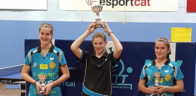 El CTT Balaguer, plata i bronze en el Top Català infantil