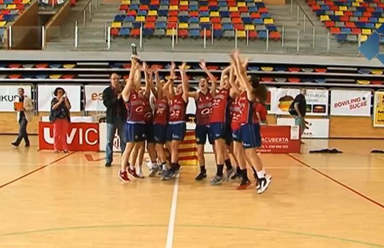 El CB Balaguer fa història guanyant la final a quatre de Catalunya