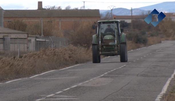 La Diputació de Lleida es compromet a arranjar la carretera entre Térmens i Bellvís