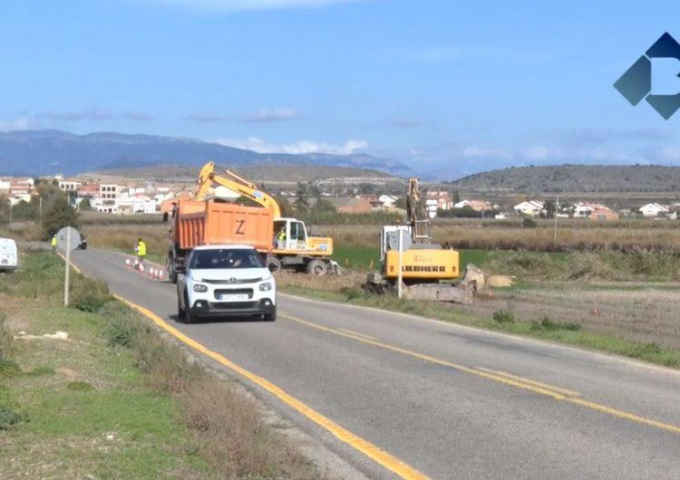 Les obres de la carretera LV-3322  que uneix Bellcaire d'Urgell i Linyola, avancen a bon ritme
