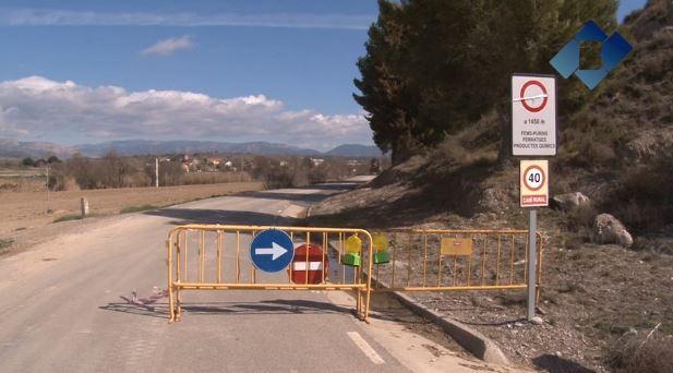 L'Ajuntament de La Sentiu de Sió arranja l'antiga carretera L-3025