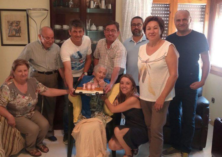 La Sentiu de Sió homenatja a la centenària Mercè Benseny i Samarra