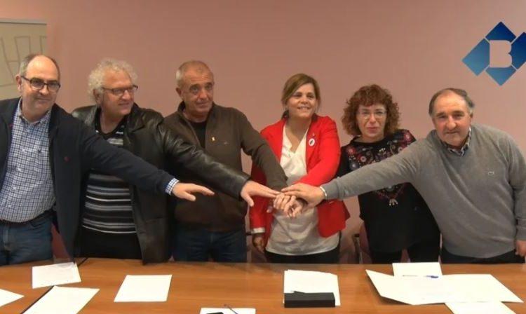 Les comarques de la Noguera i la Ribagorça signen un conveni de col·laboració pel manteniment de la passarel·la del Congost de Mont-Rebei