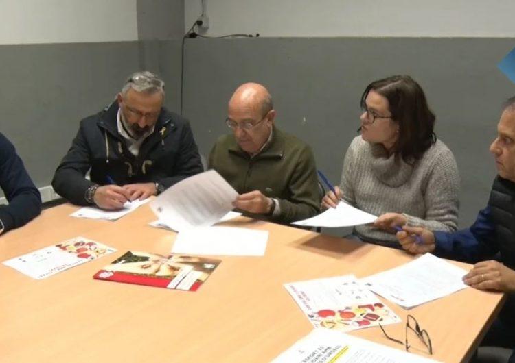 Càritas Balaguer signa un conveni de col·laboració amb tres clubs esportius de la ciutat