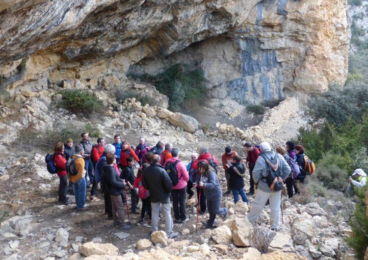 Sortida conjunta del Centre Excursionista, l'Associació Terres del Marquesat i l'Associació de dones la Coma de Meià
