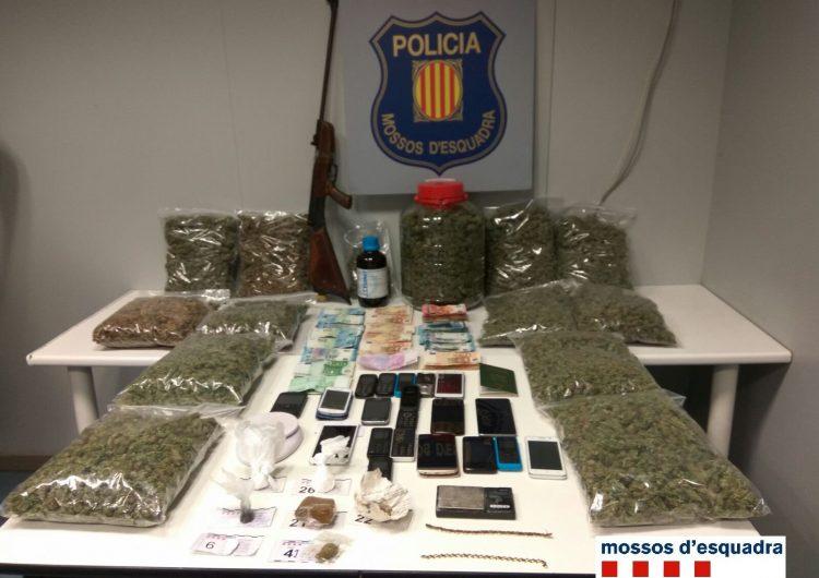 Detinguts 3 veïns de Balaguer en una operació antidroga al carrer Bellcaire
