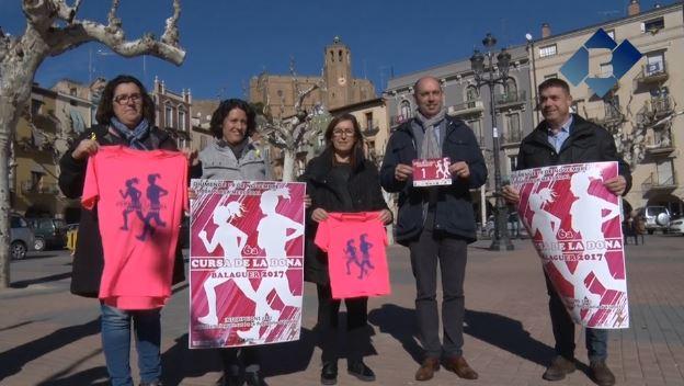 La Cursa de la Dona de Balaguer arribarà a la seva 6a edició
