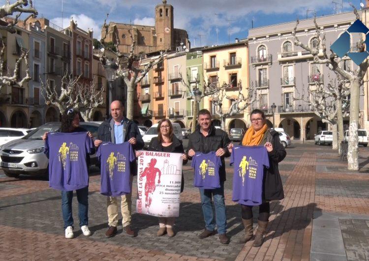 """Balaguer celebrarà la """"VII Cursa de la Dona"""" el pròxim 25 de novembre"""