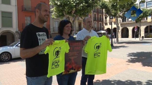 L'Ajuntament de Balaguer presenta la 5a Cursa del Foc