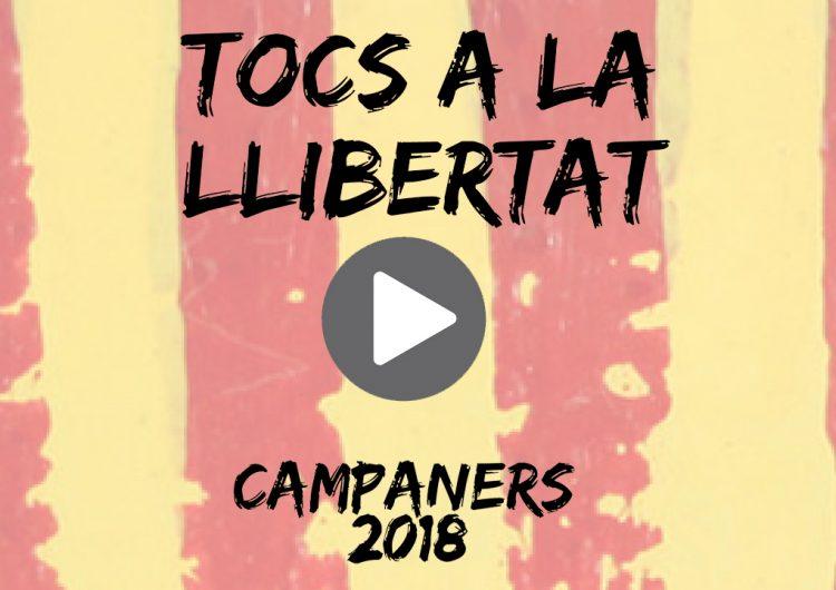 DIRECTE: 'Toc especial per la llibertat dels presos polítics' de la XXXI Festa dels Campaners d'Os de Balaguer